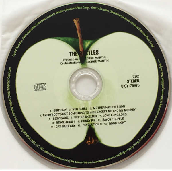 CD 2, Beatles (The) - The Beatles (aka The White Album) [Encore Pressing]