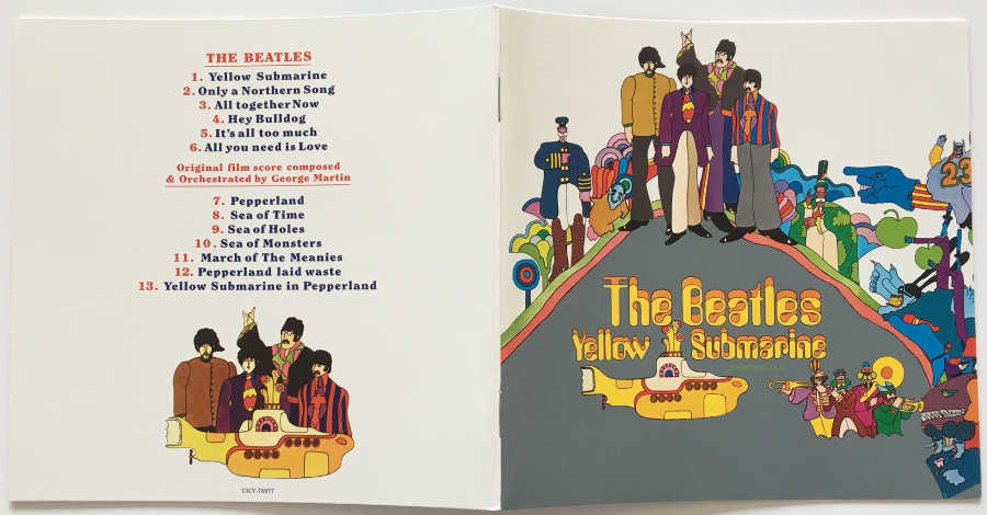 Booklet, Beatles (The) - Yellow Submarine [Encore Pressing]