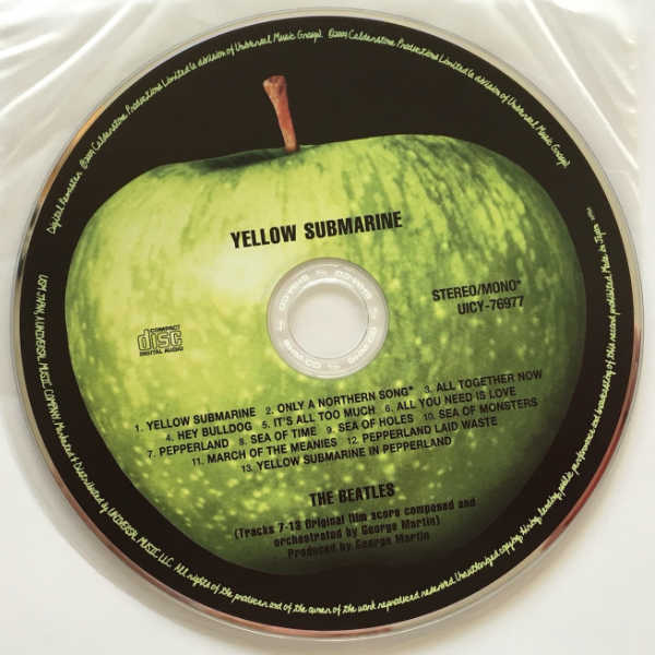 CD, Beatles (The) - Yellow Submarine [Encore Pressing]