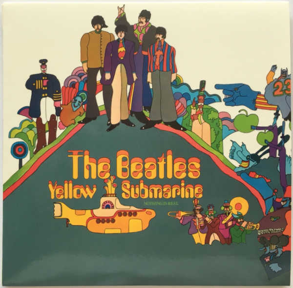 Cover, Beatles (The) - Yellow Submarine [Encore Pressing]