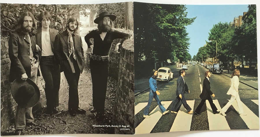 Booklet, Beatles (The) - Abbey Road [Encore Pressing]