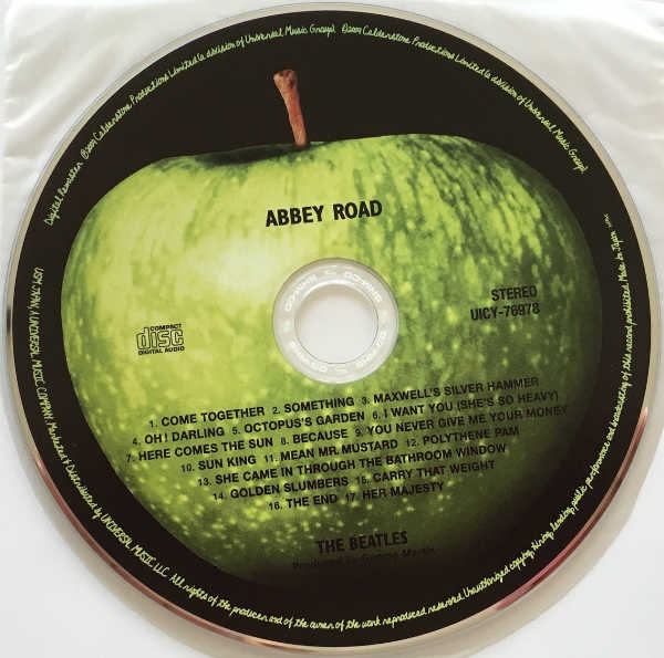 CD, Beatles (The) - Abbey Road [Encore Pressing]