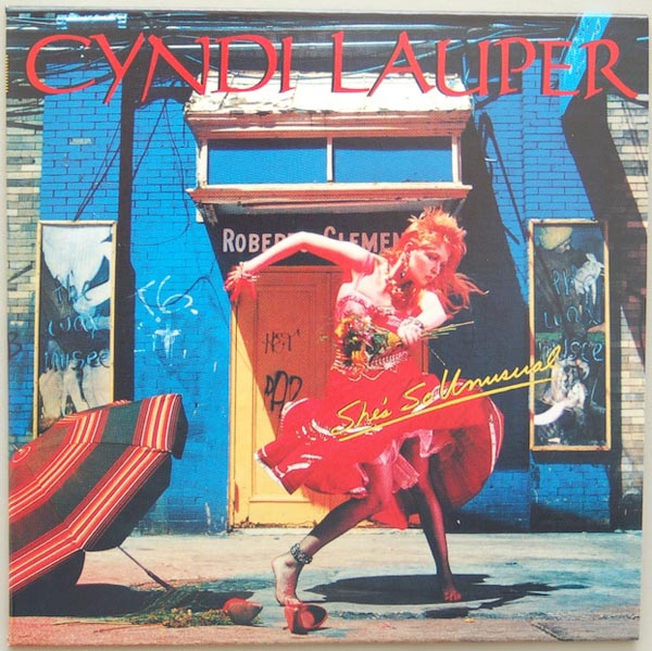 Front Cover, Lauper, Cyndi - She's So Unusual