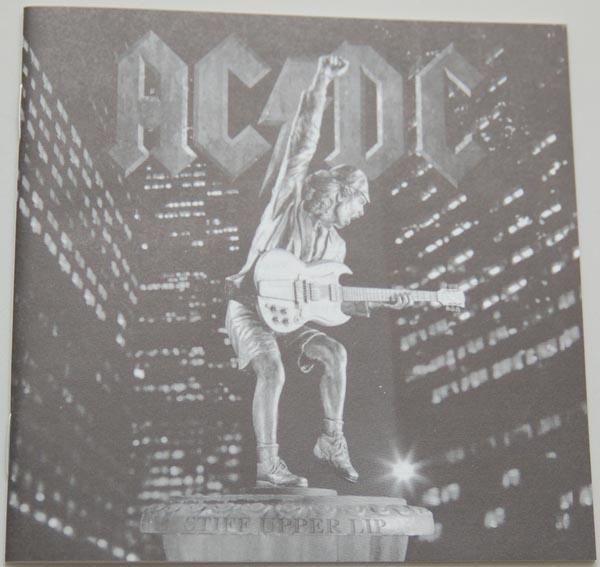 Lyric book, AC/DC - Stiff Upper Lip