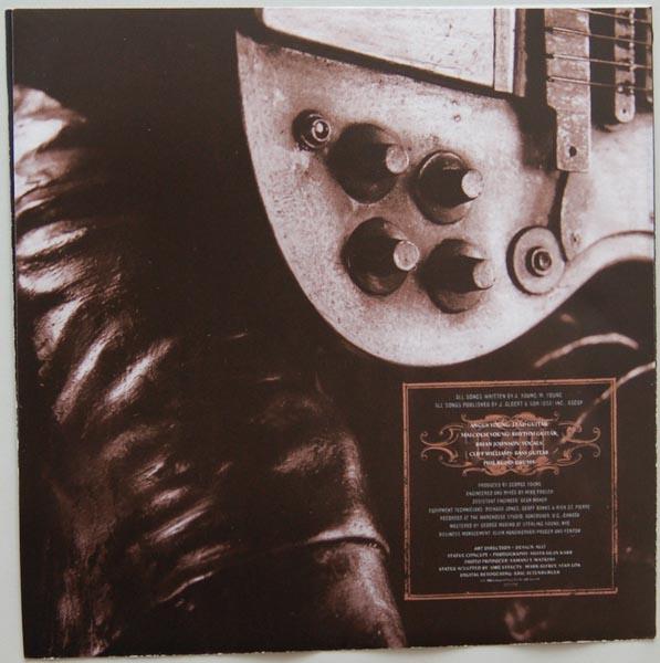 Inner sleeve side B, AC/DC - Stiff Upper Lip