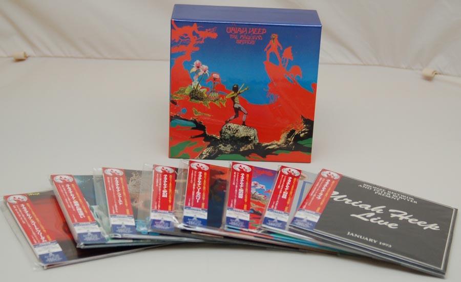 Box contents, Uriah Heep - The Magician's Birthday Box