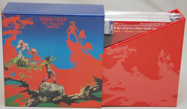 Open Box View 1, Uriah Heep - The Magician's Birthday Box