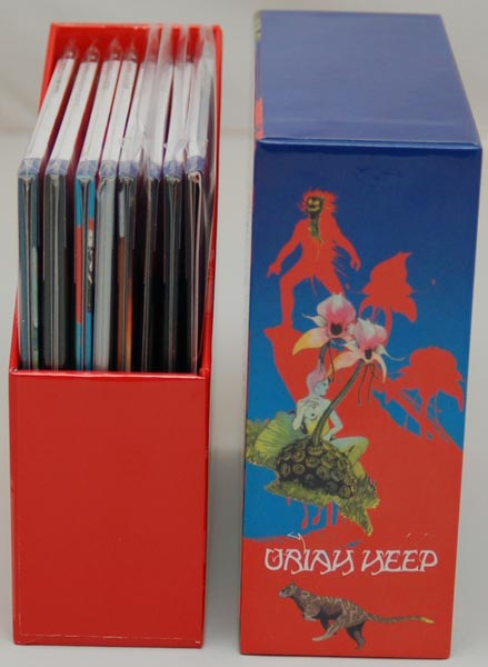 Open Box View 3, Uriah Heep - The Magician's Birthday Box