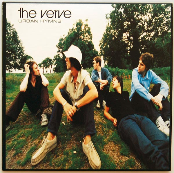 Front cover, Verve - Urban Hymns