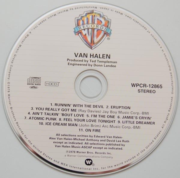 CD, Van Halen - Van Halen