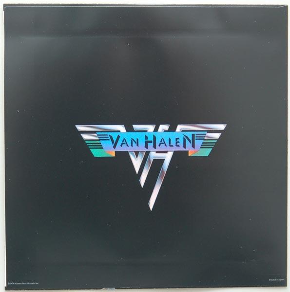 Inner sleeve side A, Van Halen - Van Halen