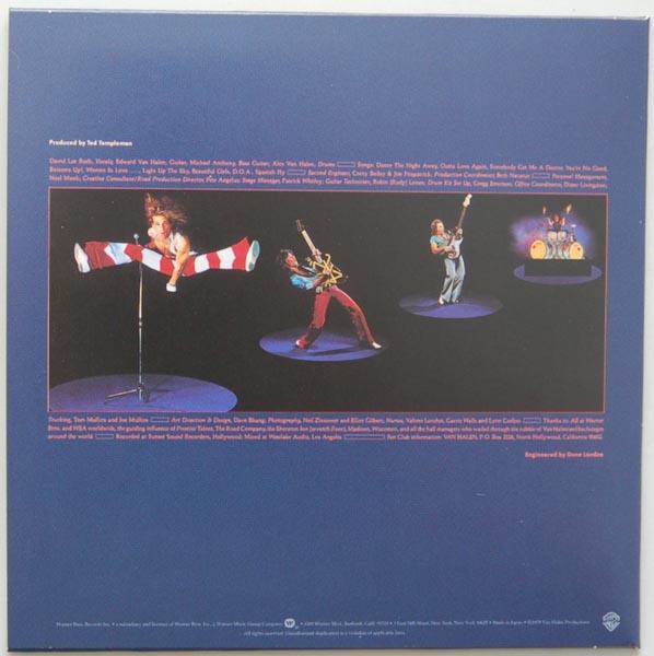 Back cover, Van Halen - Van Halen 2
