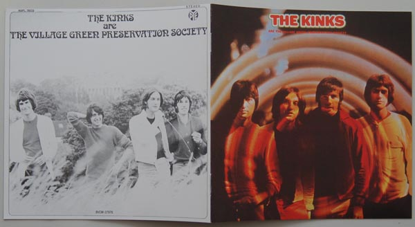 Booklet, Kinks (The) - are The Village Green Preservation Society