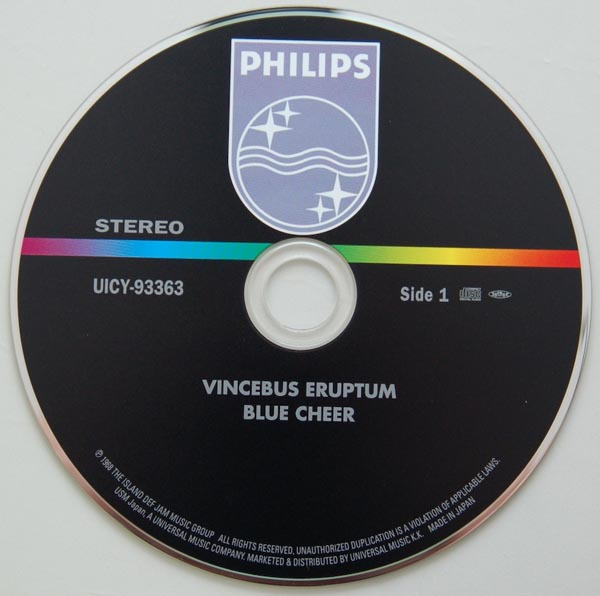 CD, Blue Cheer - Vincebus Eruptum