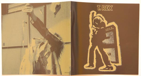 Booklet first and last pages, T Rex (Tyrannosaurus Rex) - Electric Warrior +8