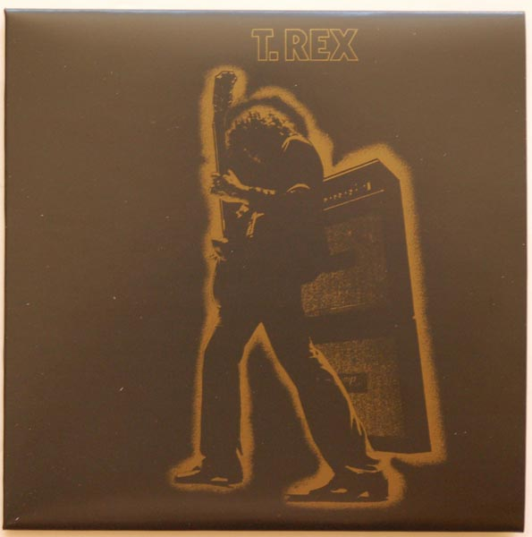 Front cover, T Rex (Tyrannosaurus Rex) - Electric Warrior +8