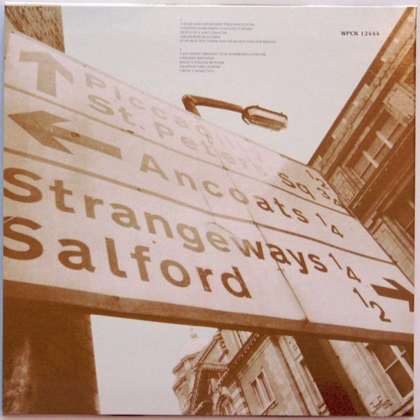 Back cover, Smiths (The) - Strangeways, Here We Come
