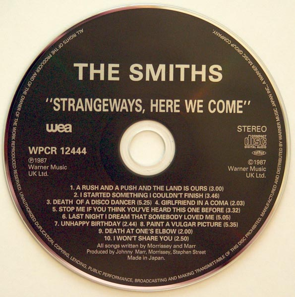 CD, Smiths (The) - Strangeways, Here We Come