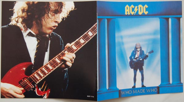 Booklet, AC/DC - Who Made Who