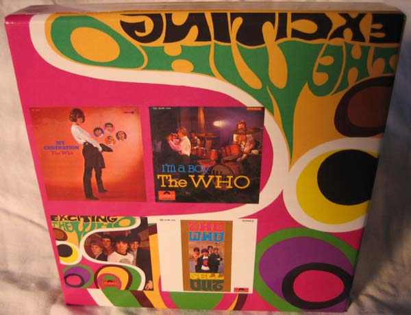 Back, Who (The) - Exciting The Who Unauthorised Box