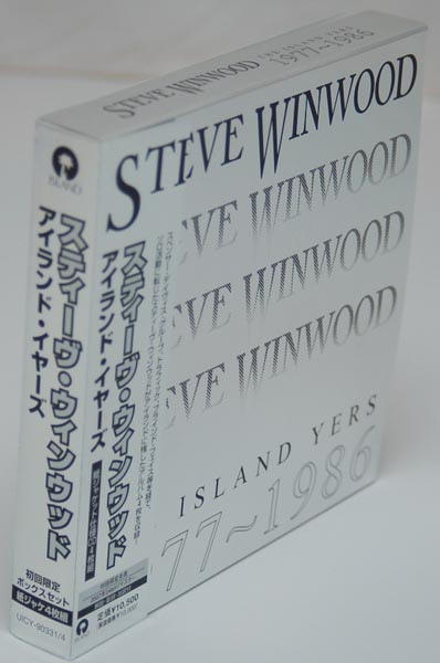 Front-lateral view, Winwood, Steve - The Island Years 1977-1986 Box