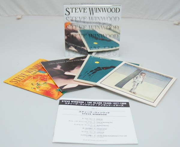 Contents + booklet, Winwood, Steve - The Island Years 1977-1986 Box