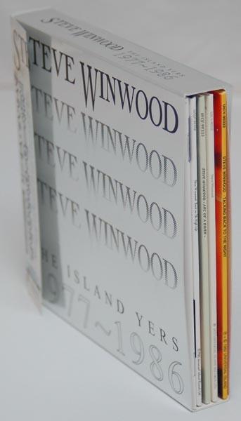Spin view, Winwood, Steve - The Island Years 1977-1986 Box