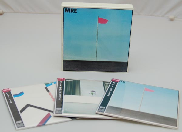 Box contents, Wire - Wire - Pink Flag Box