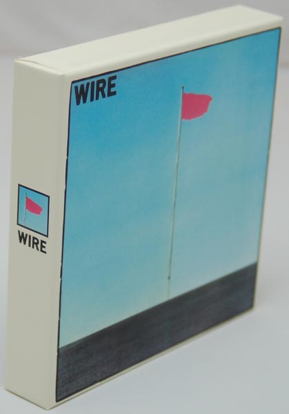 Front Lateral View, Wire - Wire - Pink Flag Box