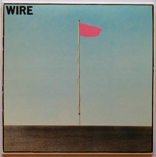 Front cover, Wire - Pink Flag