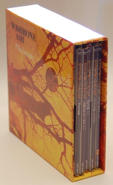 Spin view, Wishbone Ash - Pilgrimage Box