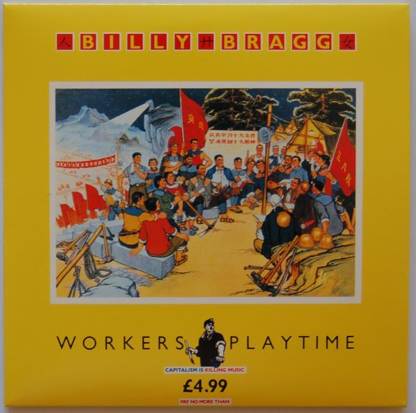 Front Cover, Billy Bragg - Workers Playtime