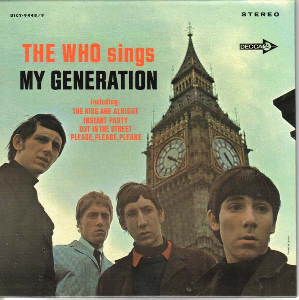 (U.S. cover) - front, Who (The) - My Generation +17