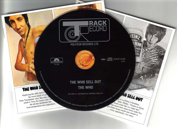 CD and Inserts, Who (The) - Sell Out +9