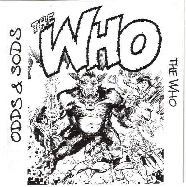Graphic (from Booklet), Who (The) - Odds and Sods +12
