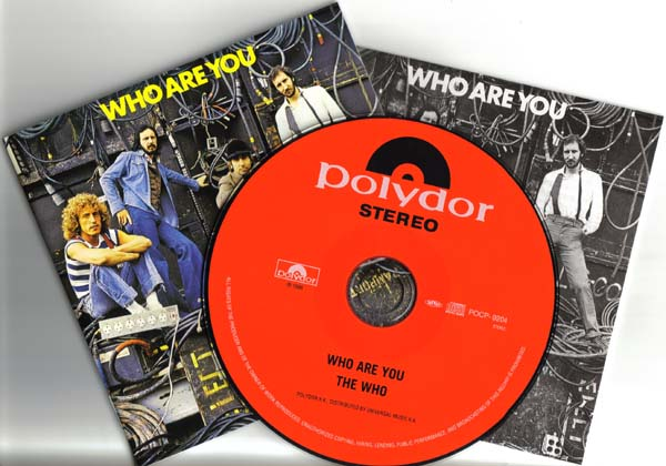 CD and Booklets, Who (The) - Who Are You +5