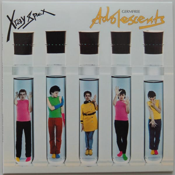 Front Cover - 2, X Ray Spex - Germ Free Adolescents