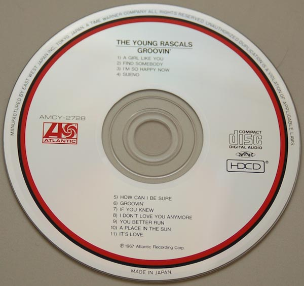 CD, Young Rascals - Groovin'