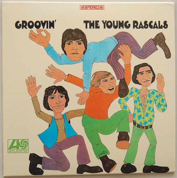 Front Cover, Young Rascals - Groovin'