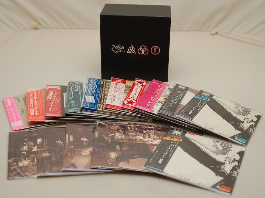 Box contents 2, Led Zeppelin - 40th Anniversary Definitive Collection (Zoso Box)