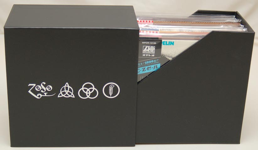 Open Box View 1, Led Zeppelin - 40th Anniversary Definitive Collection (Zoso Box)