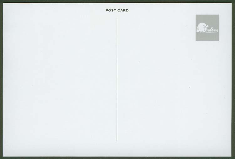 Obverse (back) of post card, Aksak Maboul  - Aksak Maboul Postcards and Obis