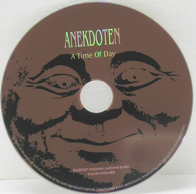 CD, Anekdoten - A Time Of Day