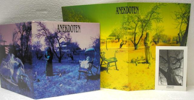 Replica of LP sleeve plus inserts, Anekdoten - Vemod Box