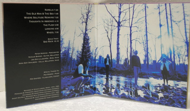 Inside Gatefold sleeve, Anekdoten - Vemod Box