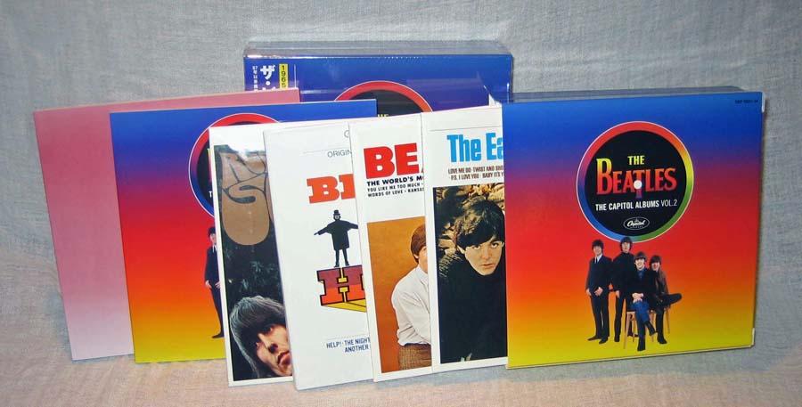 Contents, Beatles (The) - The Capitol Albums Vol.2