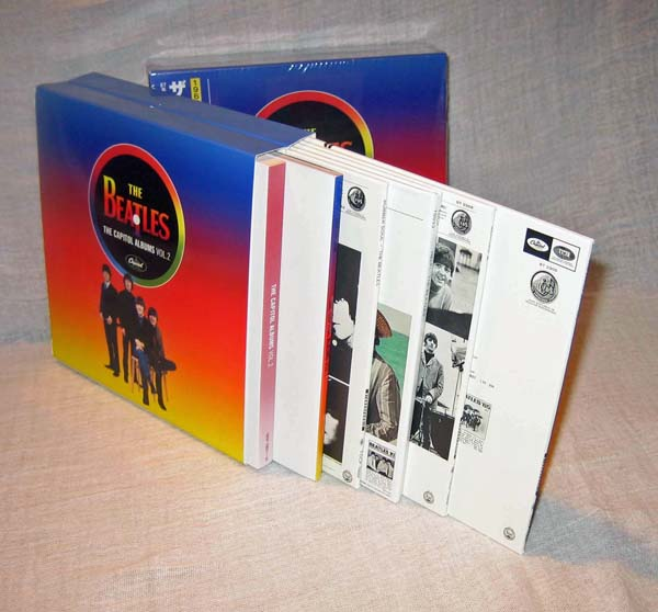 Back covers, Beatles (The) - The Capitol Albums Vol.2