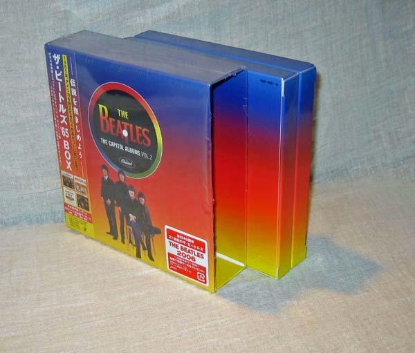 Empty box etc, Beatles (The) - The Capitol Albums Vol.2