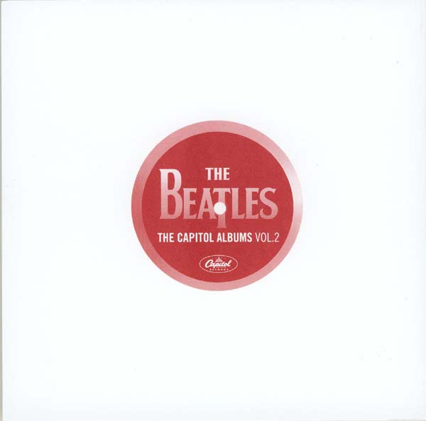 Lyric book back, Beatles (The) - The Capitol Albums Vol.2