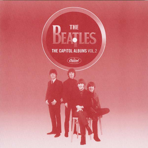Lyric book front, Beatles (The) - The Capitol Albums Vol.2